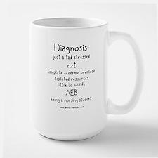 Tad Stressed Student Nurse Mug