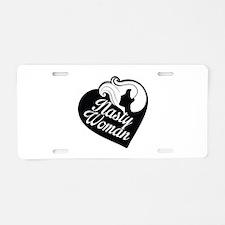 Nasty Woman Aluminum License Plate