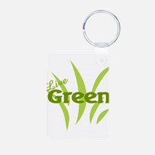 Live Green Keychains