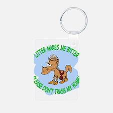 Bitter Litter Horse Keychains