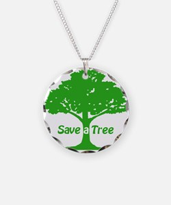 Save a Tree Necklace