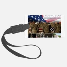 Memorial Day Luggage Tag