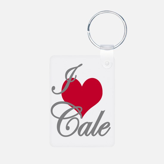 I love (heart) Cale Keychains