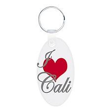 I love (heart) Cali Keychains