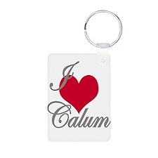 I love (heart) Calum Keychains