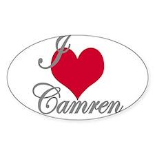 I love (heart) Camren Decal