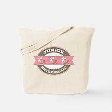 Junior Bridesmaid flowered Tote Bag