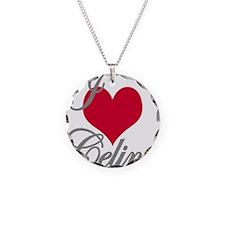 I love (heart) Celine Necklace