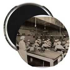 1922 Elmer's Candy Chocolate Dipping Dept. Magnet