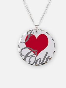 I love (heart) Colt Necklace