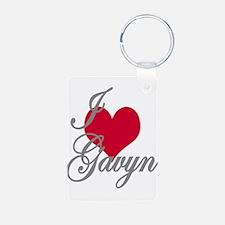 I love (heart) Gavyn Keychains