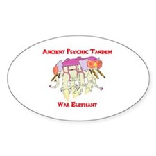 Ancient Psychic Tandem War Elephant Decal