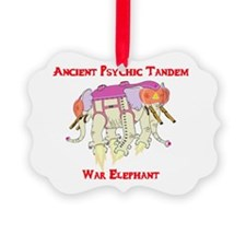 Ancient Psychic Tandem War Elepha Ornament