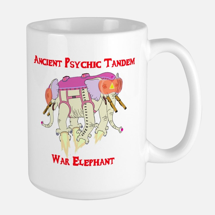 Ancient Psychic Tandem War Elephant Mug