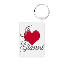 I love (heart) Gianni Keychains
