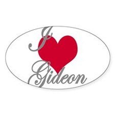 I love (heart) Gideon Decal