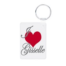 I love (heart) Gisselle Keychains