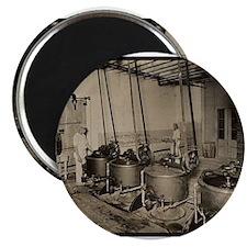1922 - Elmer's Candy Chocolate Melting Dept. Magne