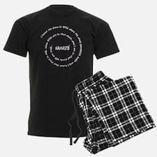 Namaste for Dark Co... Pajamas