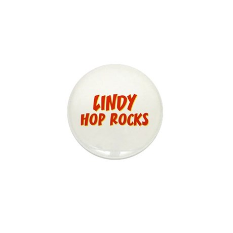 Lindy Hop Rocks Mini Button (10 pack)