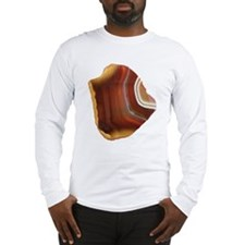 Honey colored Agate Long Sleeve T-Shirt