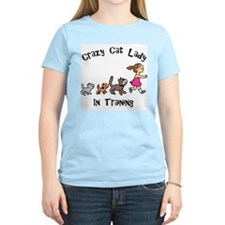 Crazy Cat Lady In Training T-Shirt