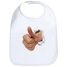 Thumbs Up Bib