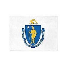 Massachusetts (F15)b 5'x7'Area Rug