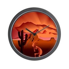Southwest Kokopelli Wall Clock