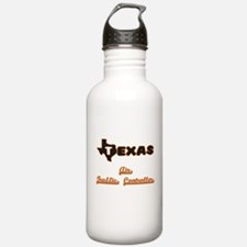 Texas Air Traffic Cont Water Bottle