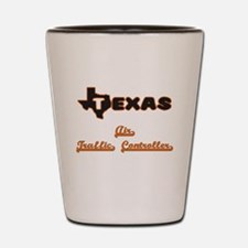 Texas Air Traffic Controller Shot Glass