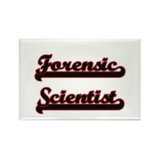 Forensic Scientist Classic Job Design Magnets