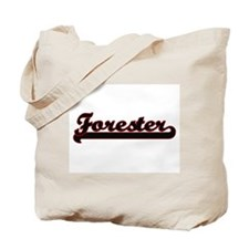 Forester Classic Job Design Tote Bag