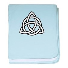 Triquetra baby blanket