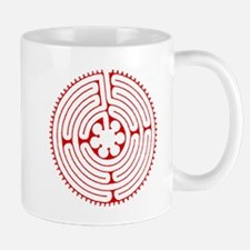 Labyrinth Red Mugs