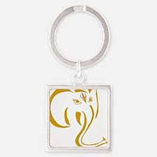 gold Ganesh Keychains