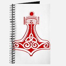 Thors Hammer Red Journal