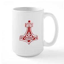 Thors Hammer Red Mugs