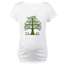 Swirl tree green Shirt