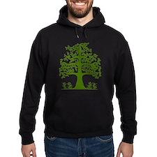 Swirl tree green Hoody