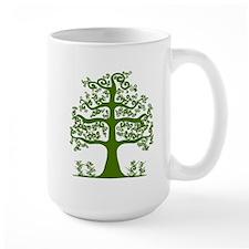 Swirl tree green Mugs