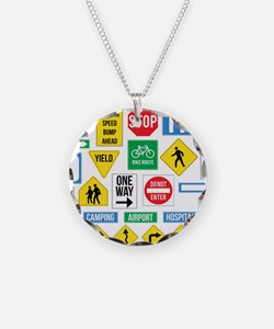 Street signs ! Necklace
