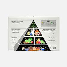 Food Pyramid Magnets