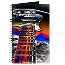 Colorful Electric Guitar Journal