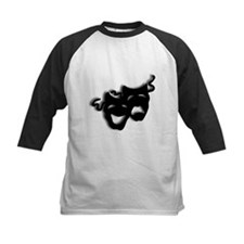 Comedy and Tragedy Theater Masks Baseball Jersey
