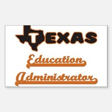 Texas Education Administrator Decal