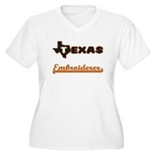 Texas Embroiderer Plus Size T-Shirt