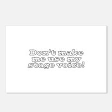 Stage Voice Postcards (Package of 8)