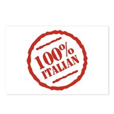 100% Italian Postcards (Package of 8)