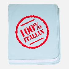 100% Italian baby blanket